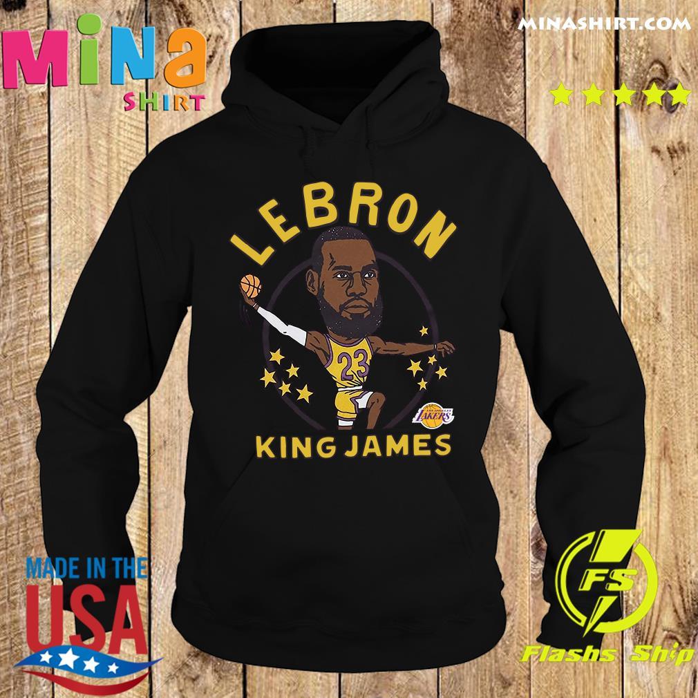 LeBron James King James Caricature Shirt Hoodie