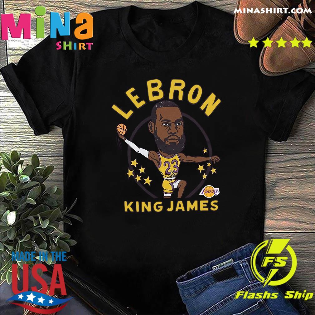 LeBron James King James Caricature Shirt