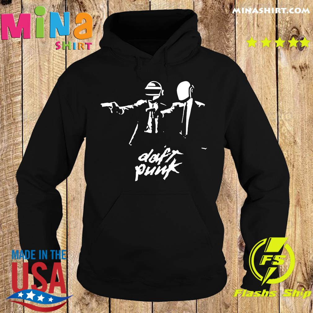Official Daft Punk Fiction Essential Shirt Hoodie