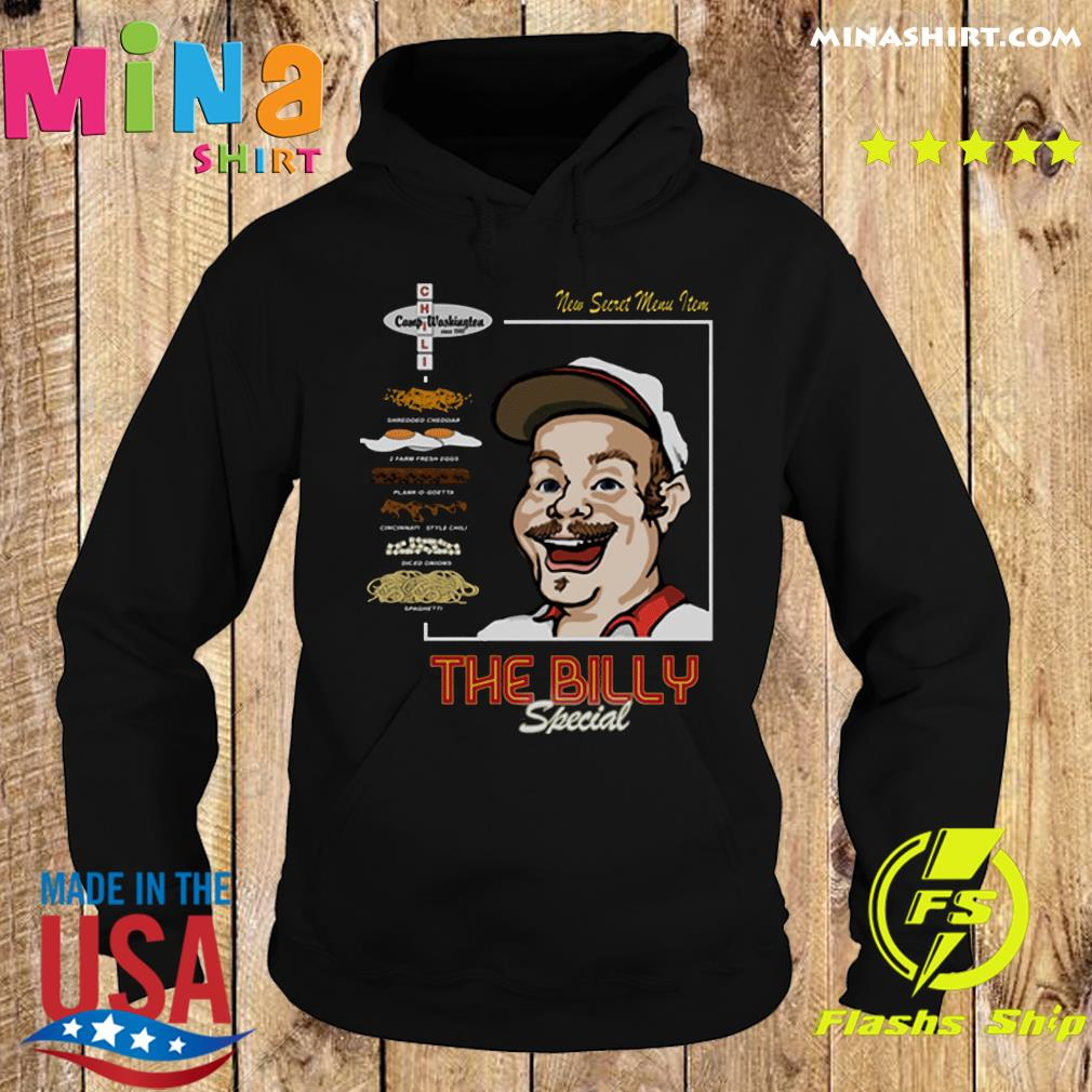 Official The Billy Special Camp Washington Chili Shirt Hoodie