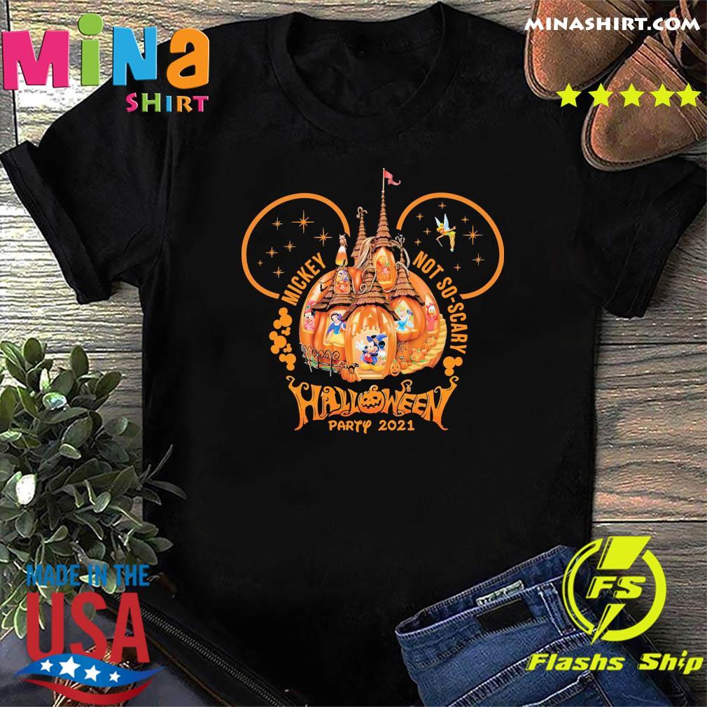 Not So Scary Halloween Shirt Halloween Party 2021 Shirt Masswerks Store