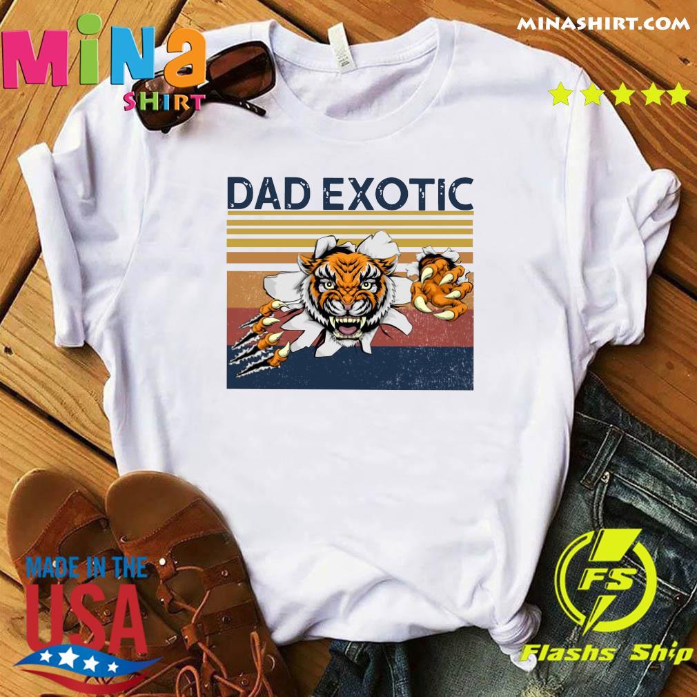 Dad Exotic Vintage Shirt
