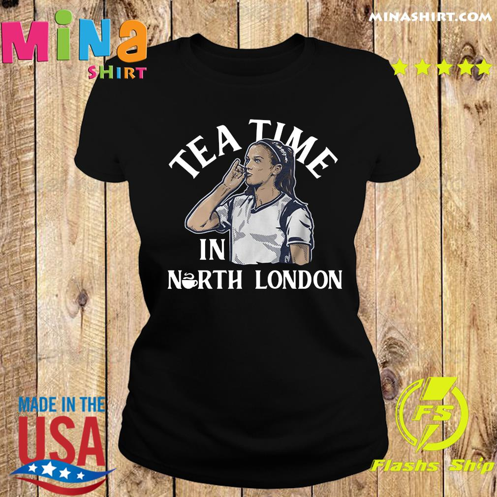 Alex Morgan Tea Time in North London USWNTPA Shirt Ladies tee