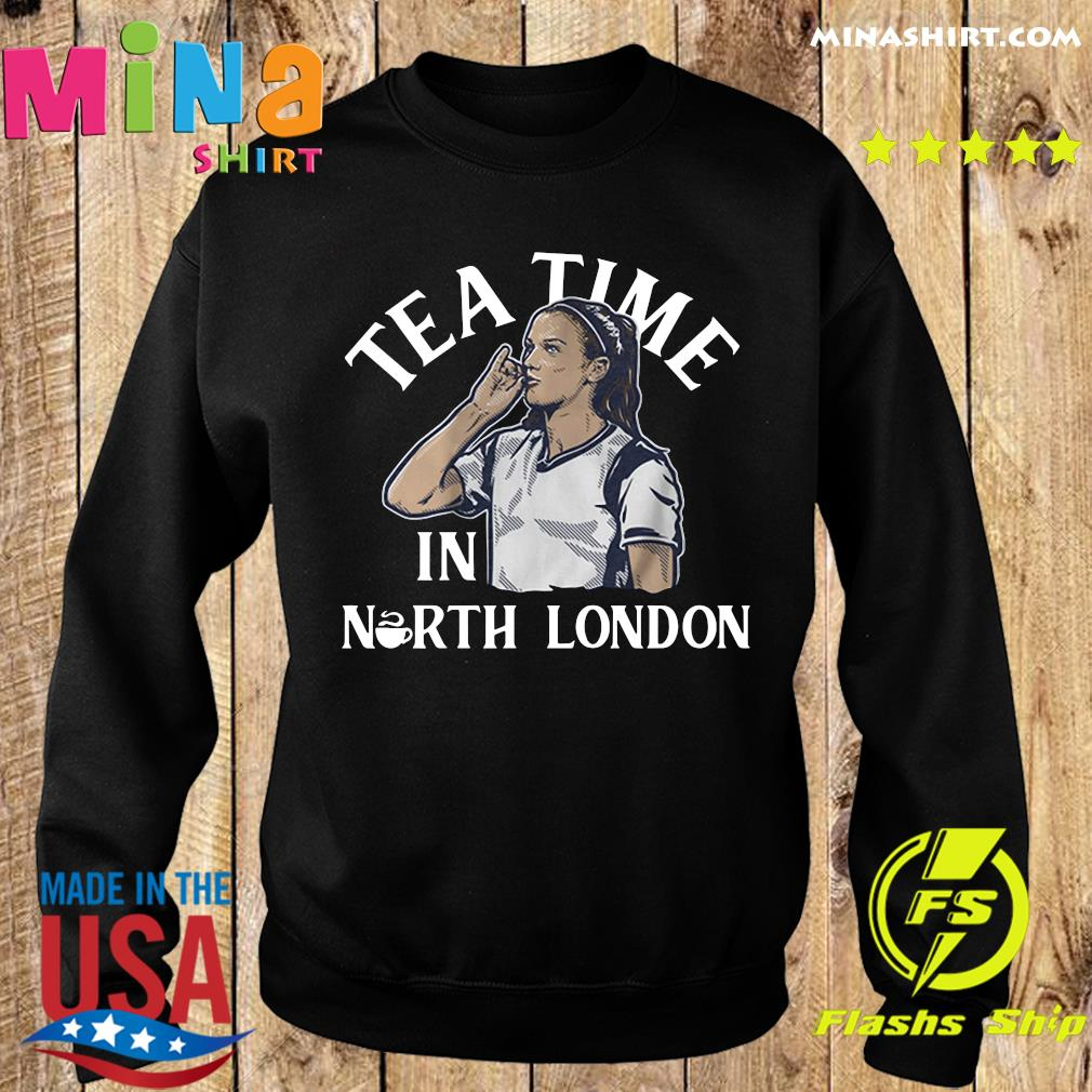 Alex Morgan Tea Time in North London USWNTPA Shirt Sweater