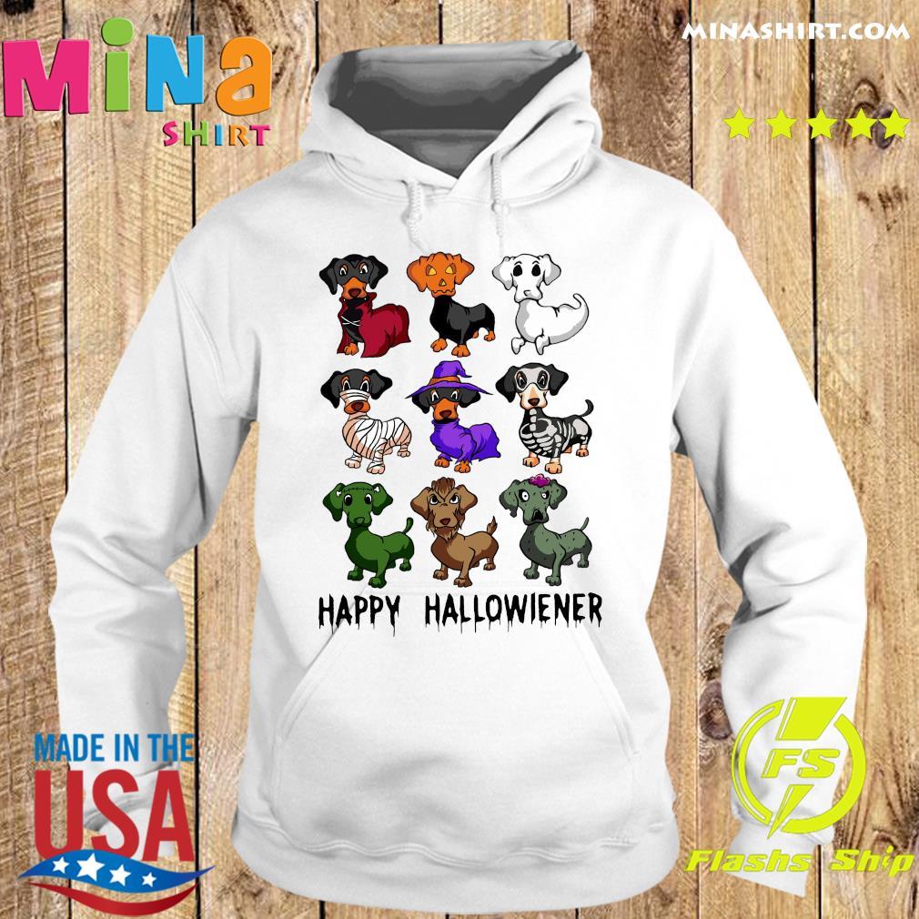 Official Dachshund Happy Halloween Shirt Hoodie