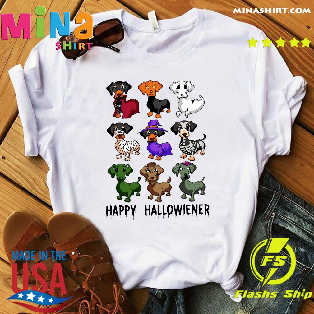 Official Dachshund Happy Halloween Shirt