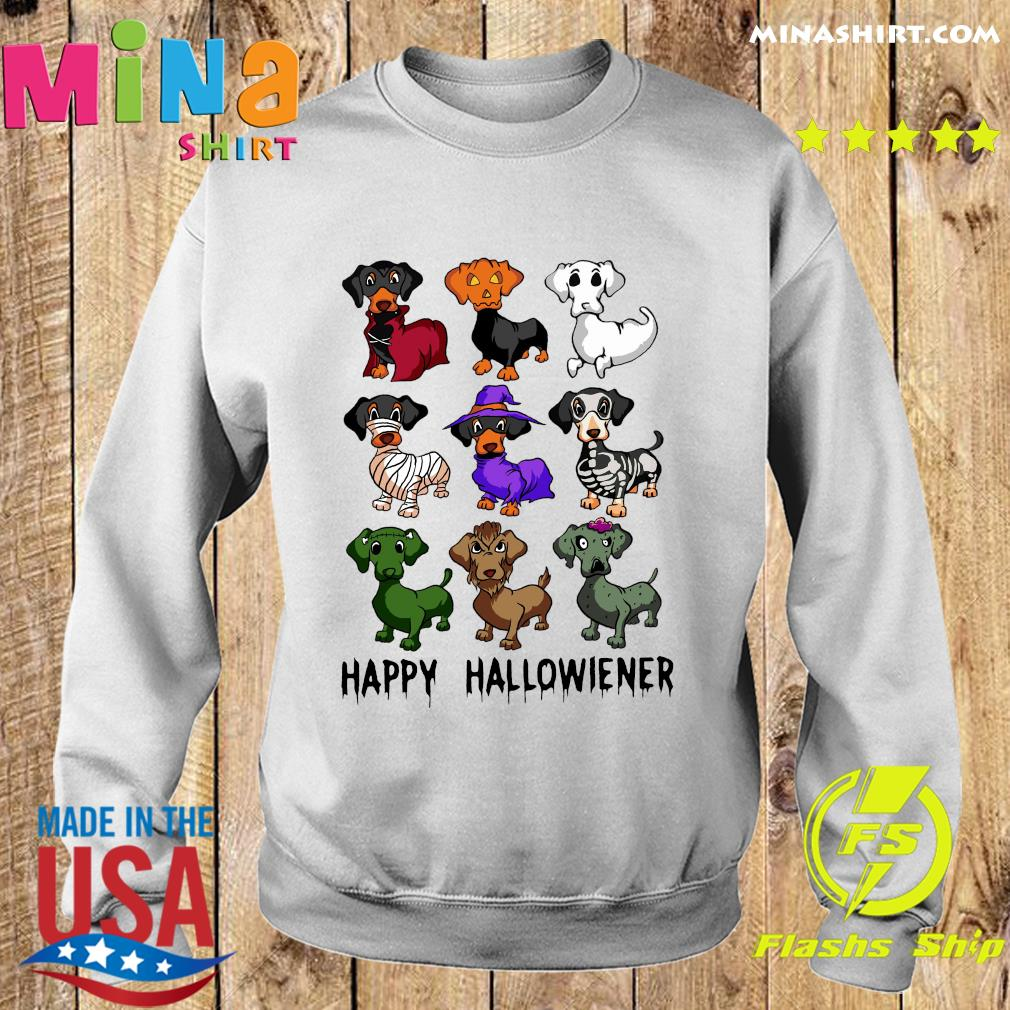 Official Dachshund Happy Halloween Shirt Sweater