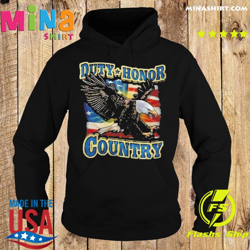 Eagle Duty Honor Country US s Hoodie