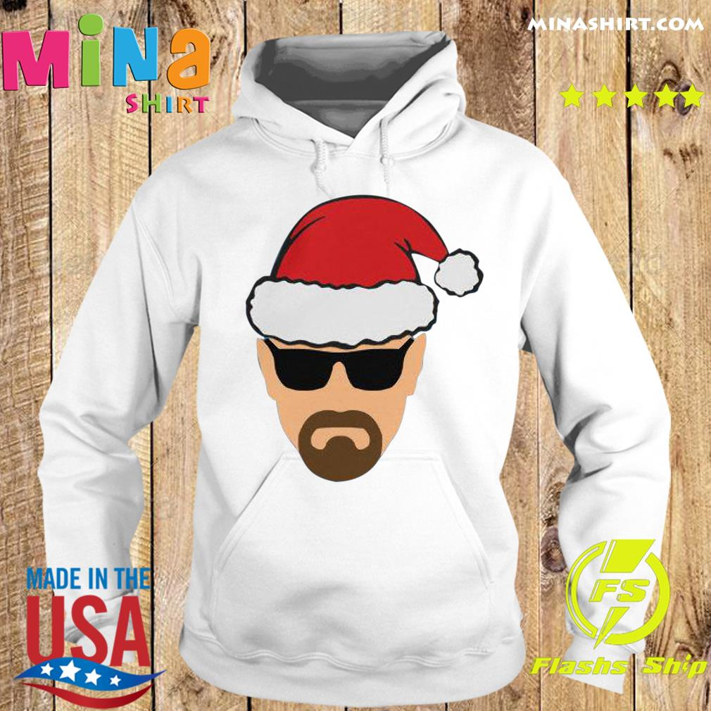 Heisenberg Walter White as Santa Sweats Hoodie