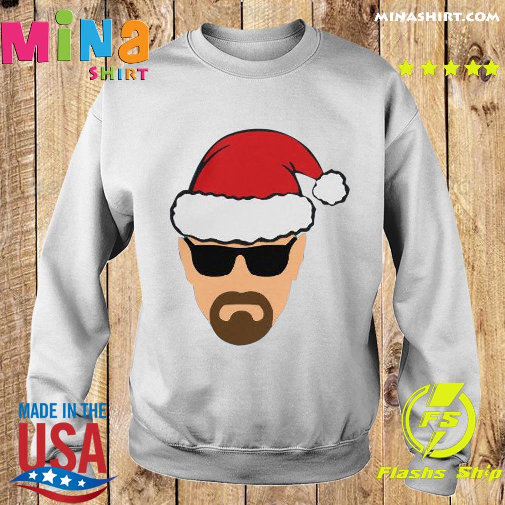 Heisenberg Walter White as Santa Sweatshirt
