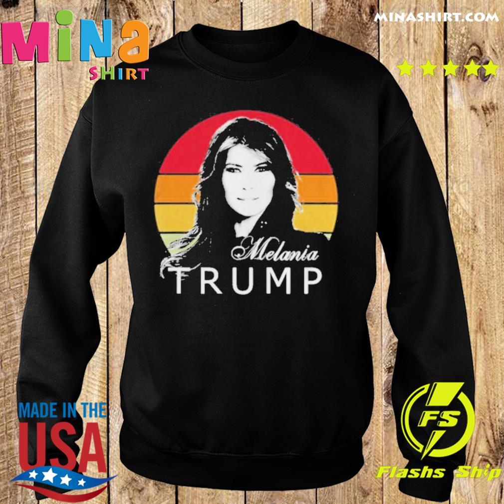 Melania trump first lady of the united states vintage retro shirt