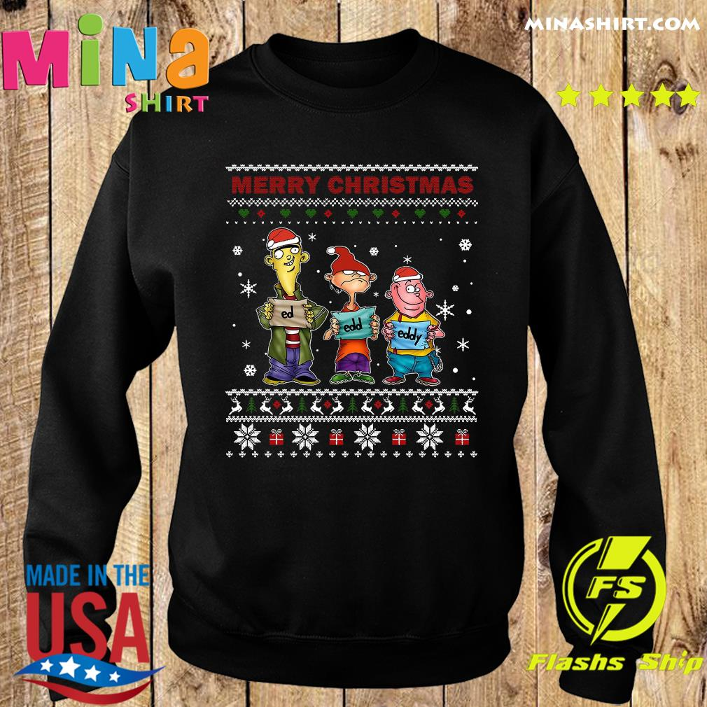 Ed Edd Eddy Merry Christmas Ugly Sweats Sweater