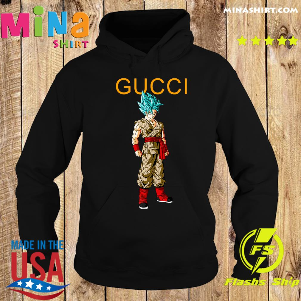 Goku Dragon Ball Super Gucci Shirt Hoodie