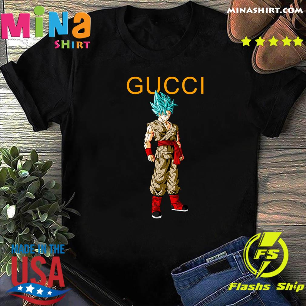 Goku Dragon Ball Super Gucci Shirt