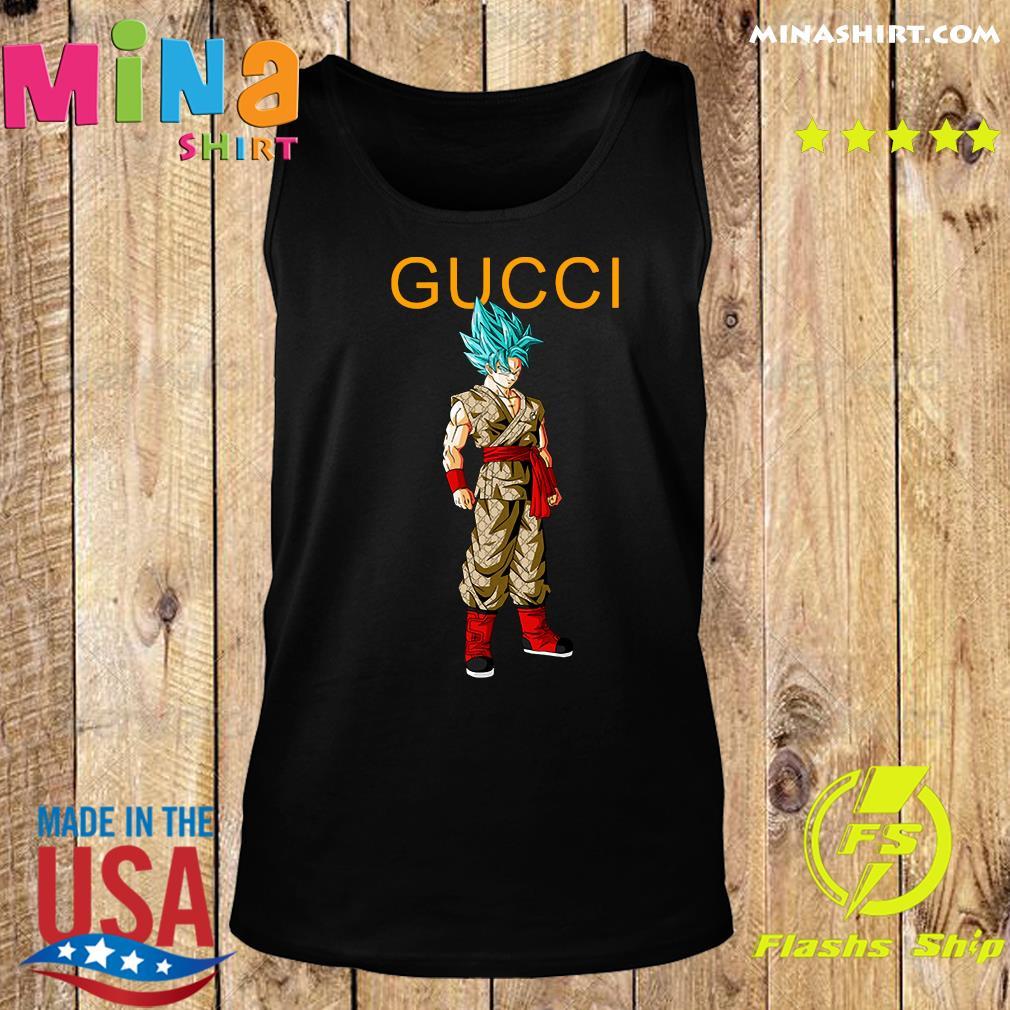 Goku Dragon Ball Super Gucci Shirt Tank top