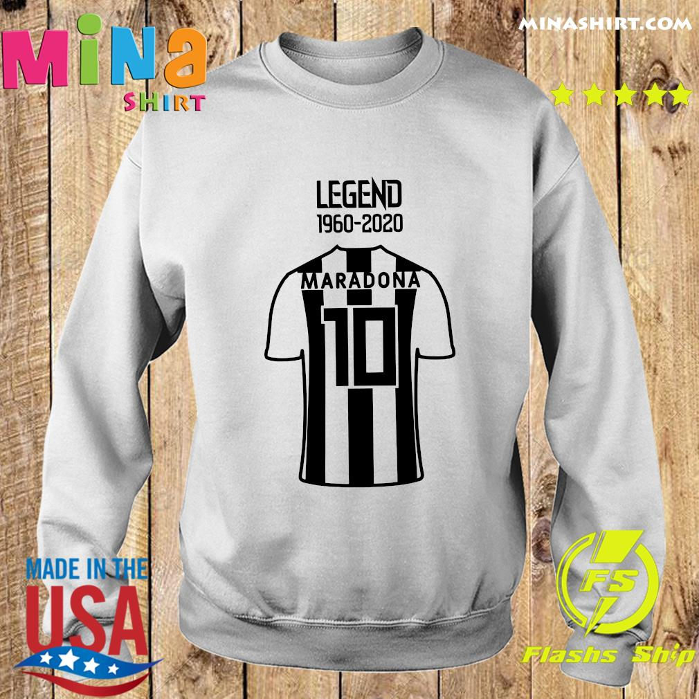 Legend 1960 2020 Diego Maradona 10 Shirt Sweater