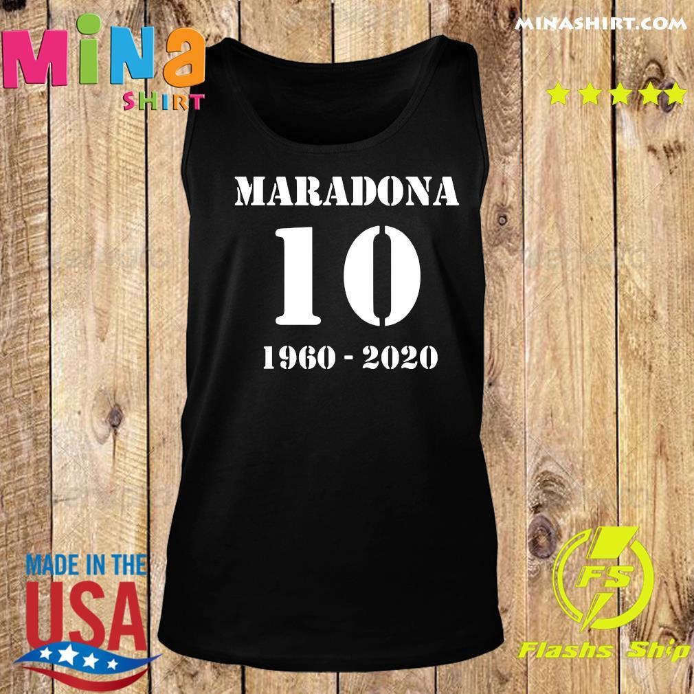 Maradona 10 1960 2020 RIP Diego Maradona Shirt Tank top