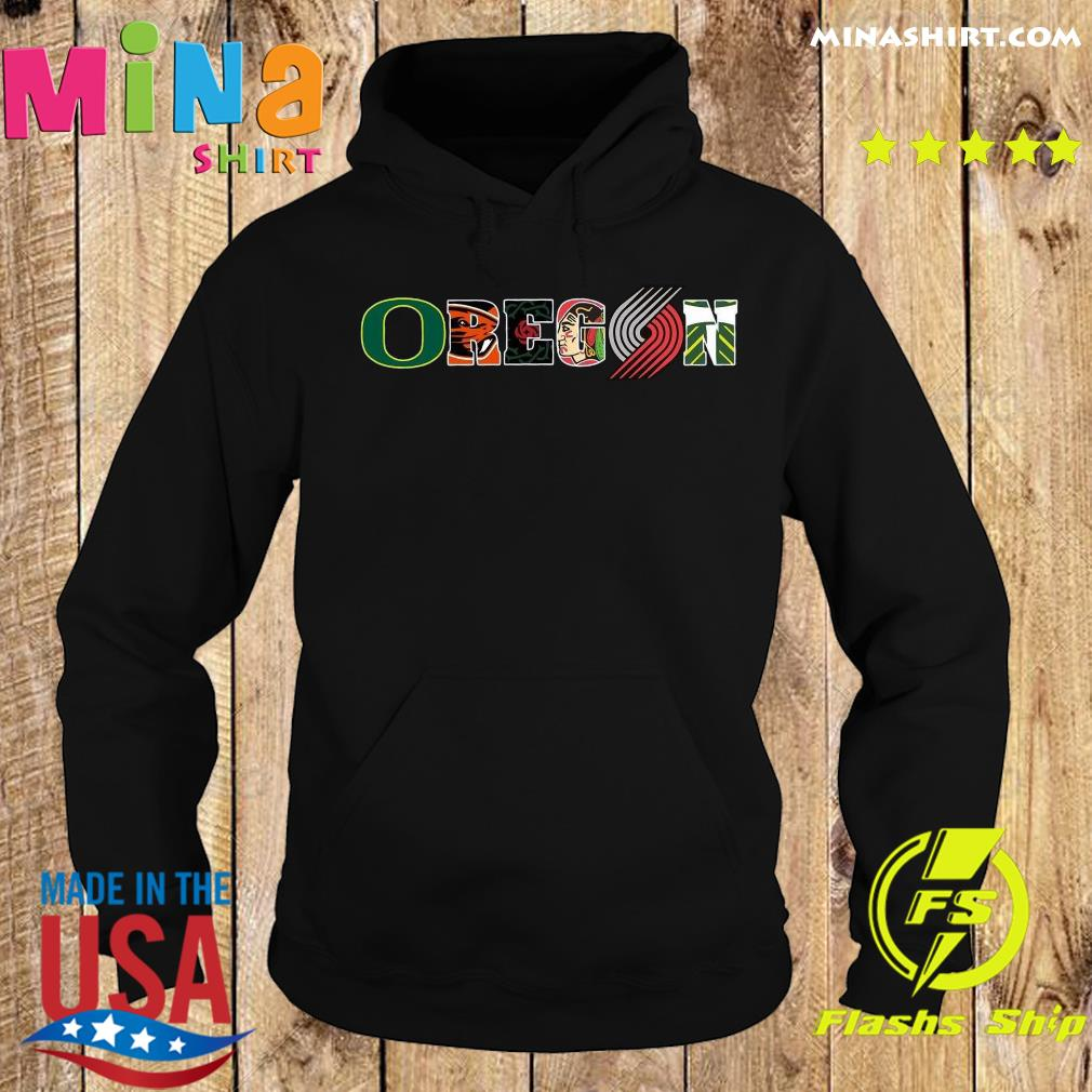 Oregon Symboy Tiger Shirt Hoodie