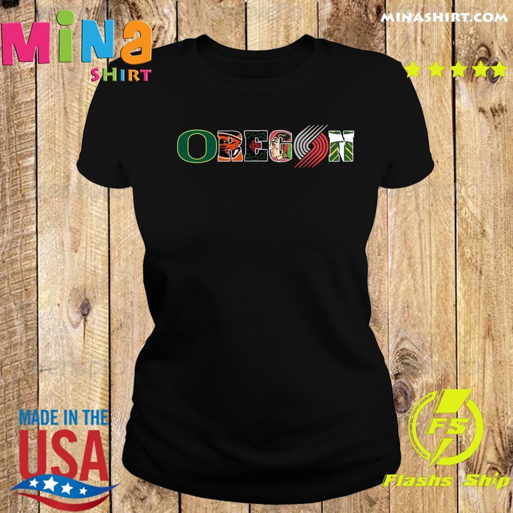 Oregon Symboy Tiger Shirt Ladies tee