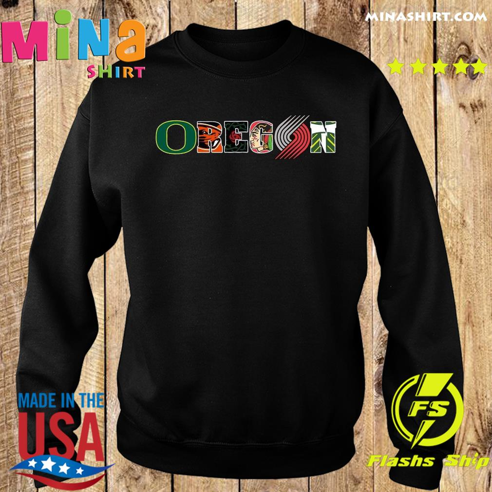 Oregon Symboy Tiger Shirt Sweater