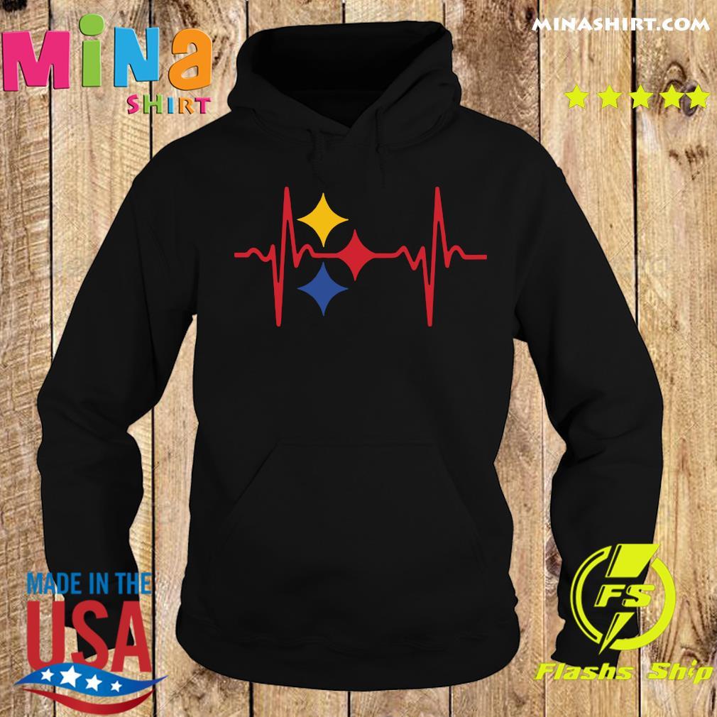 Pittsburgh Steelers Heartbeat Shirt Hoodie