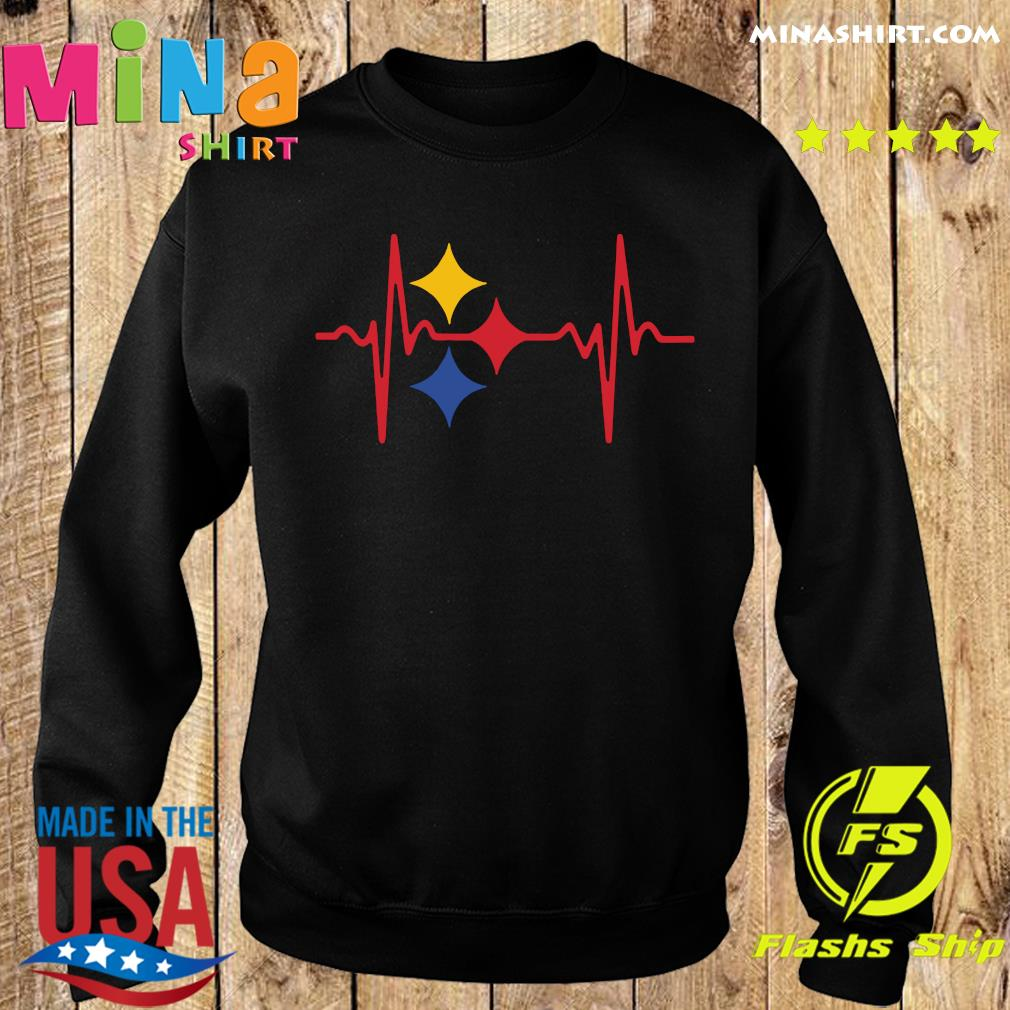 Pittsburgh Steelers Heartbeat Shirt Sweater