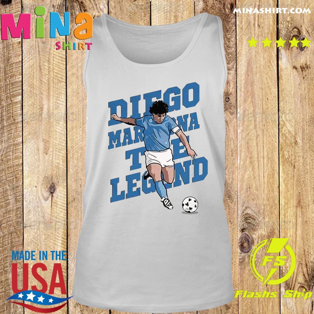RIP Diego Maradona We Why Miss Your Diego Maradona Shirt Tank top