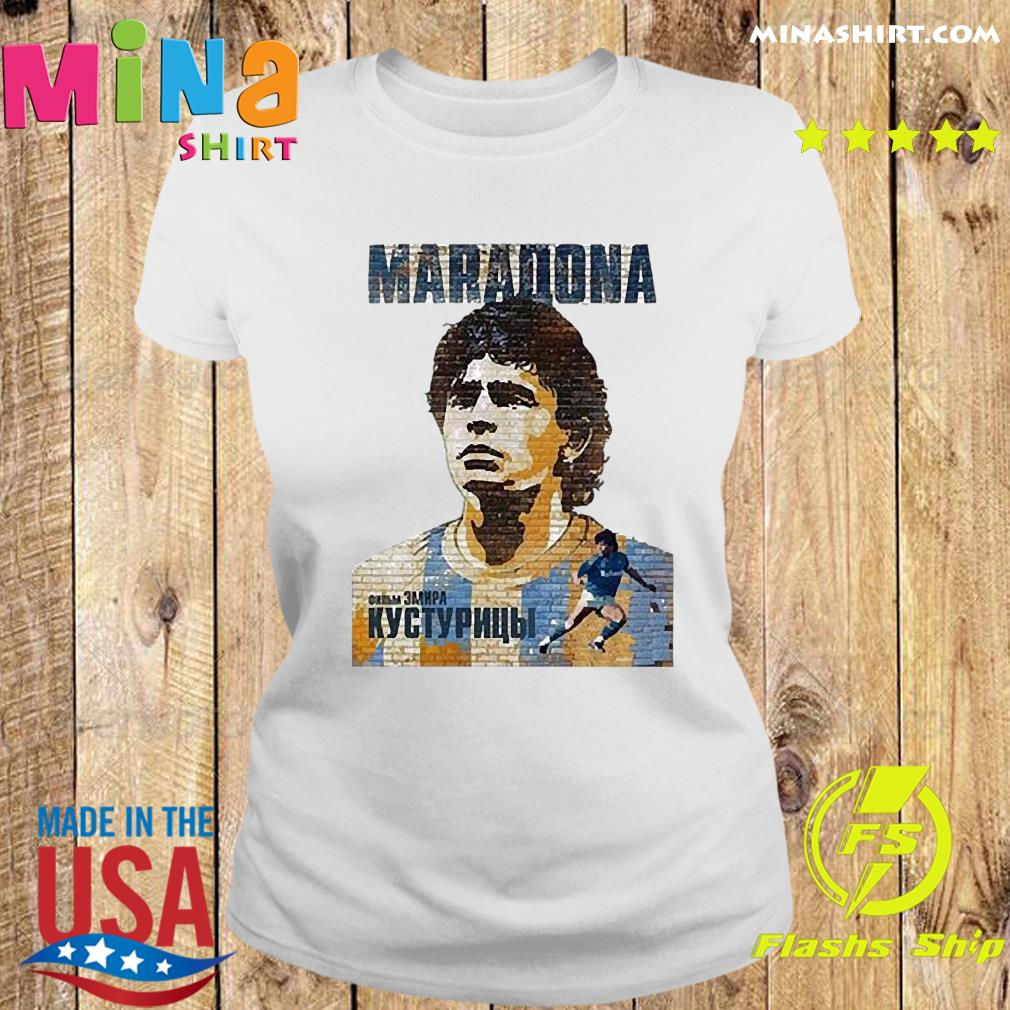 RIP Maradona Diego We will miss you Diego Maradona Footballer football Shirt Ladies tee