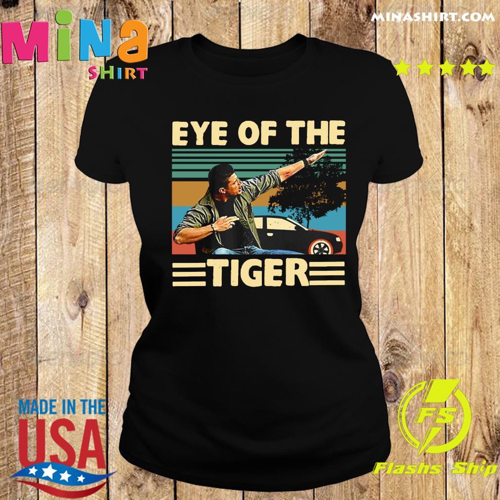 Dean Winchester Supernatural Eye of The Tiger Bodysuit Baby Jersey Black